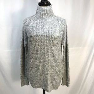 Romeo & Juliet Couture Two Tone Mockneck Sweater